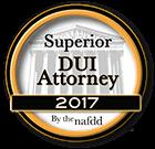NAFDD Superior DUI Attorney 2017