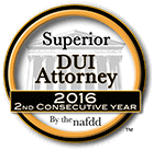 NAFDD 2nd Consecutive Year DUI Attorney
